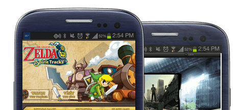 mobile video game websites