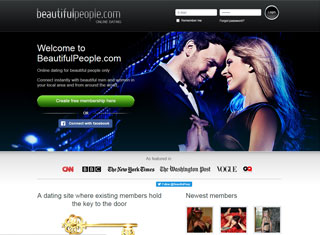 Best dating site design