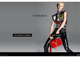 Fashion Web Design Design Example