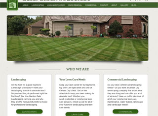 Best Landscaping Web Design examples | Landscaping Web ...