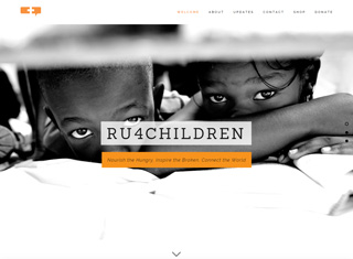 Charity Web Design Design Example