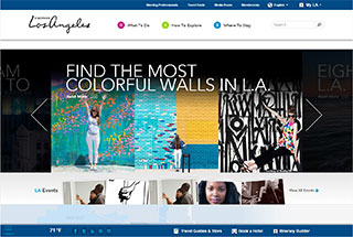 Travel Web Design Design Example