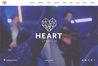 heart church - Church Website Design Ideas