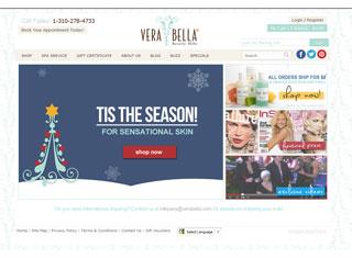 Salon / Spa Web Design Design Example
