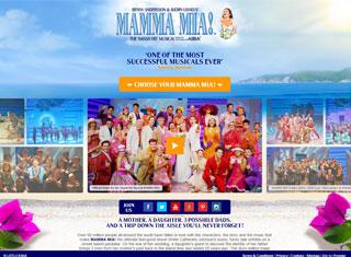 best entertainment web design examples entertainment web design