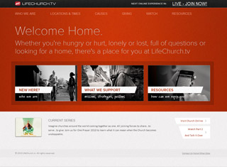 life church - Church Website Design Ideas
