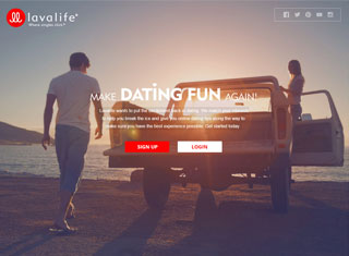 dating website commercial