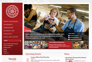 Educational Web Design Design Example
