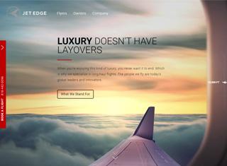 Transportation Web Design Design Example