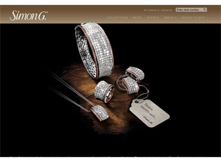 Jewelry Web Design Design Example